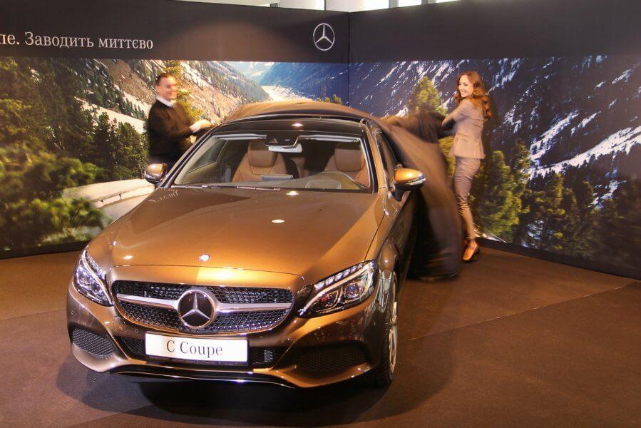 Новый Mercedes C-Class 4