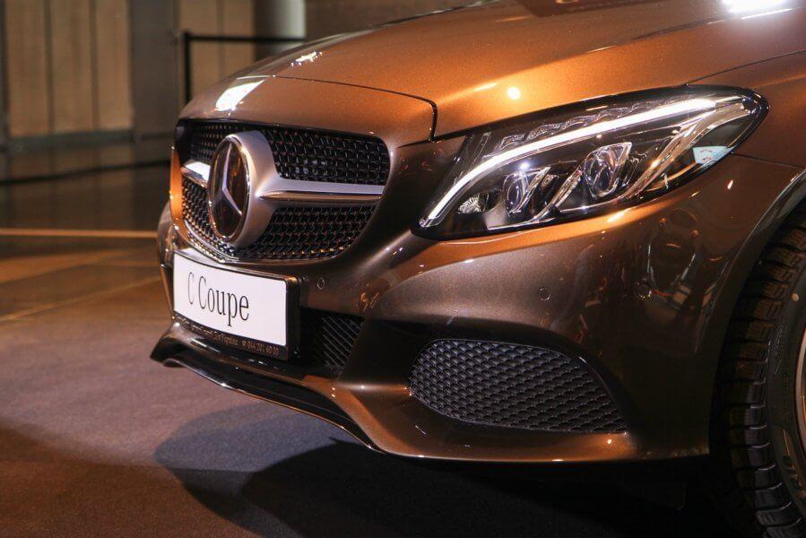 Новый Mercedes C-Class 1